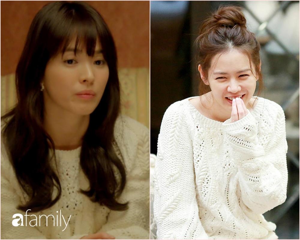 Song Hye Kyo đụng hàng Son Je Jin: Đều xinh đẹp ngút ngàn nhưng thần thái liệu có cách biệt? - Ảnh 1.