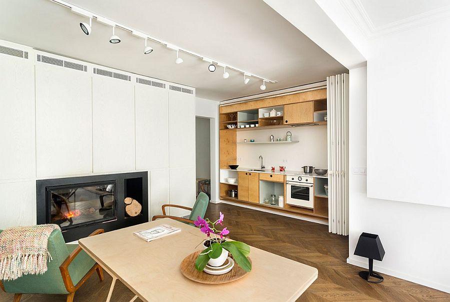 Căn hộ V01: Nhà bếp với hệ thống kệ ẩn và một loạt sự thú vị khác giúp tiết kiệm không gian - Ảnh 16.