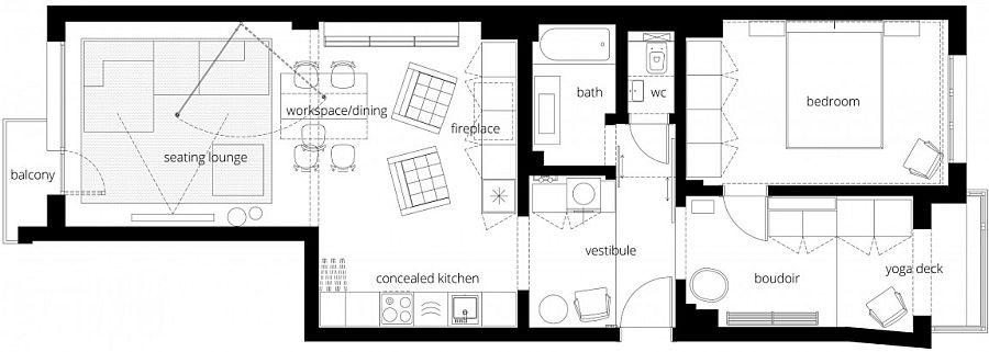 Căn hộ V01: Nhà bếp với hệ thống kệ ẩn và một loạt sự thú vị khác giúp tiết kiệm không gian - Ảnh 20.