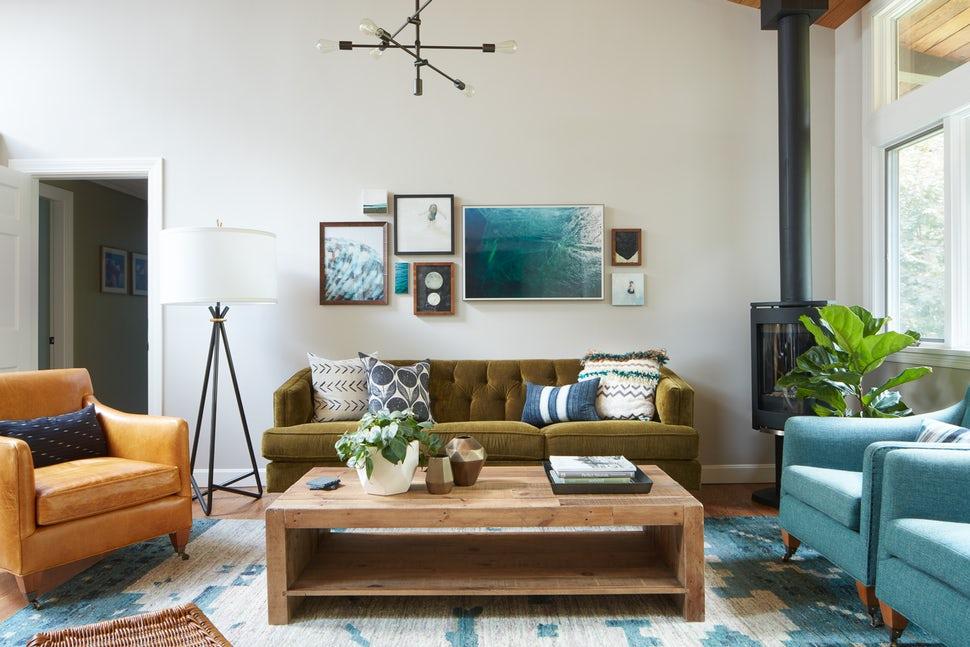 Những căn phòng khách khiến bạn phải lấy giấy bút học tập ngay cách thiết kế - Ảnh 1.