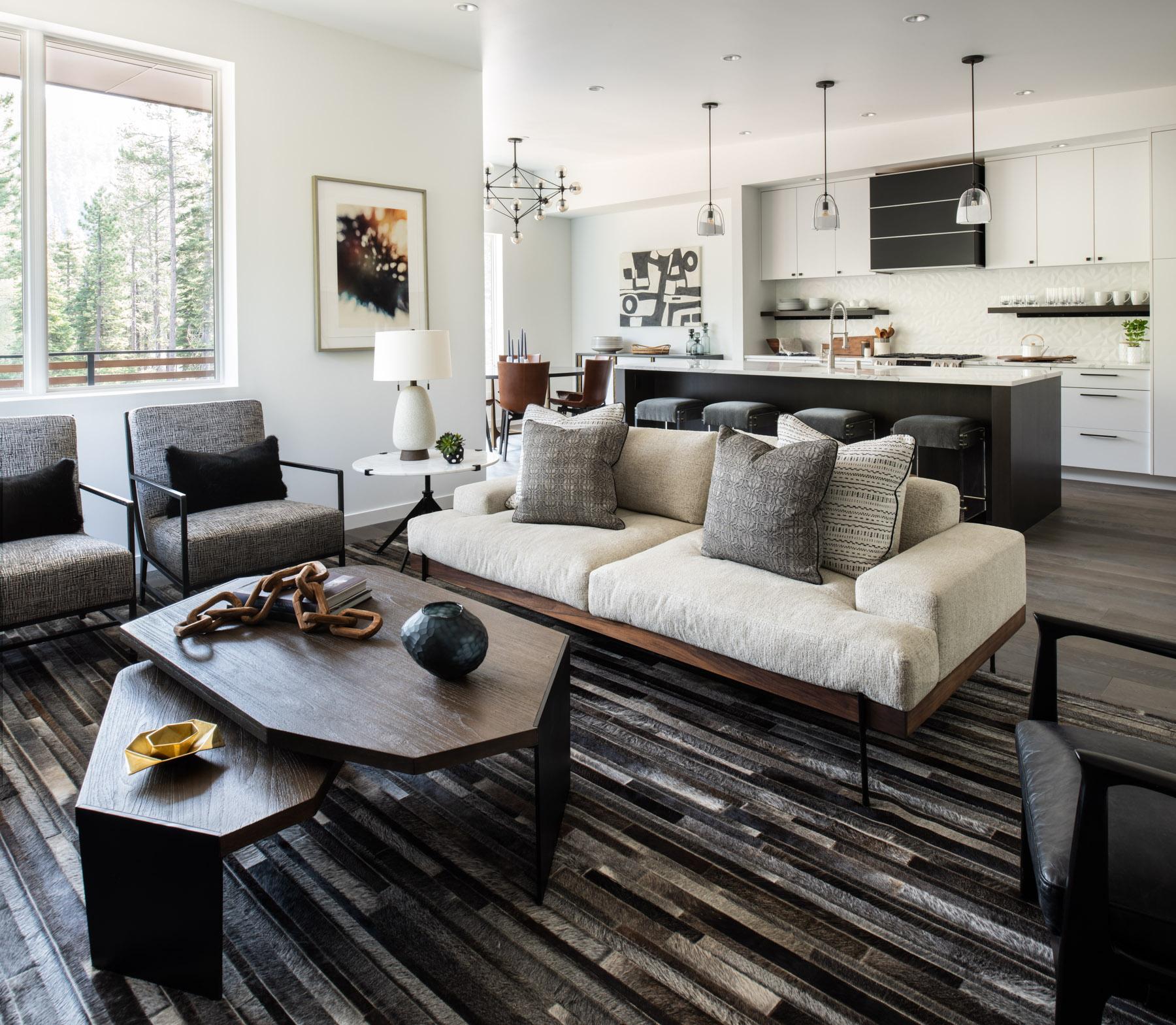 Những căn phòng khách khiến bạn phải lấy giấy bút học tập ngay cách thiết kế - Ảnh 13.