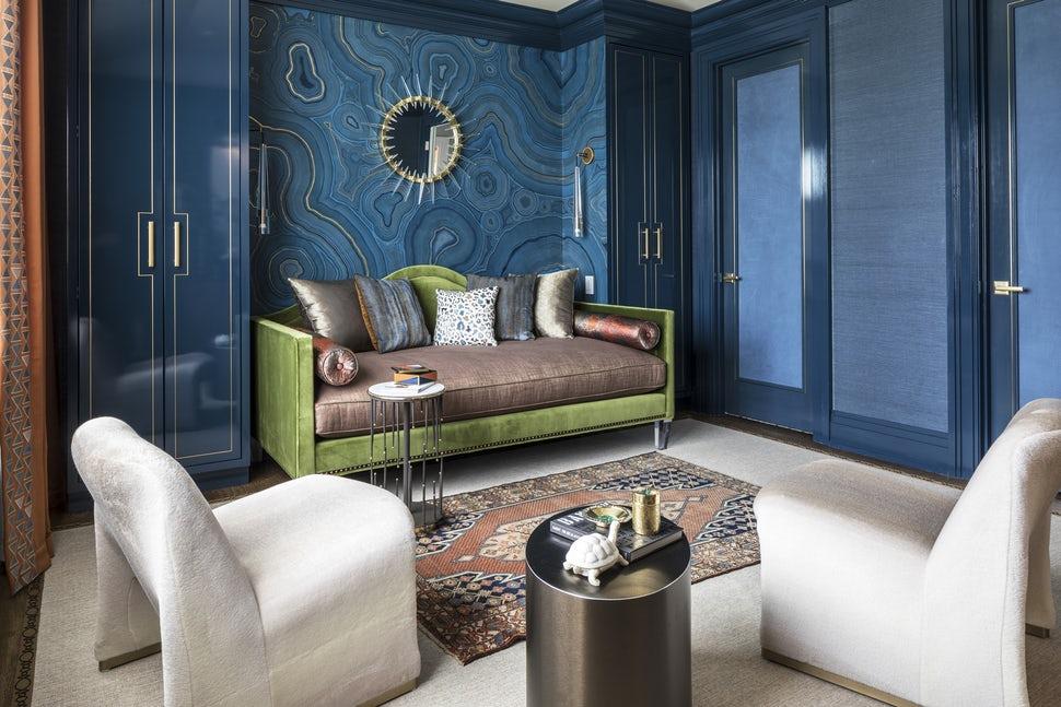 Những căn phòng khách khiến bạn phải lấy giấy bút học tập ngay cách thiết kế - Ảnh 9.