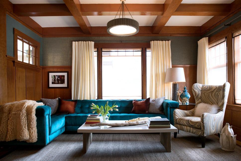 Những căn phòng khách khiến bạn phải lấy giấy bút học tập ngay cách thiết kế - Ảnh 12.