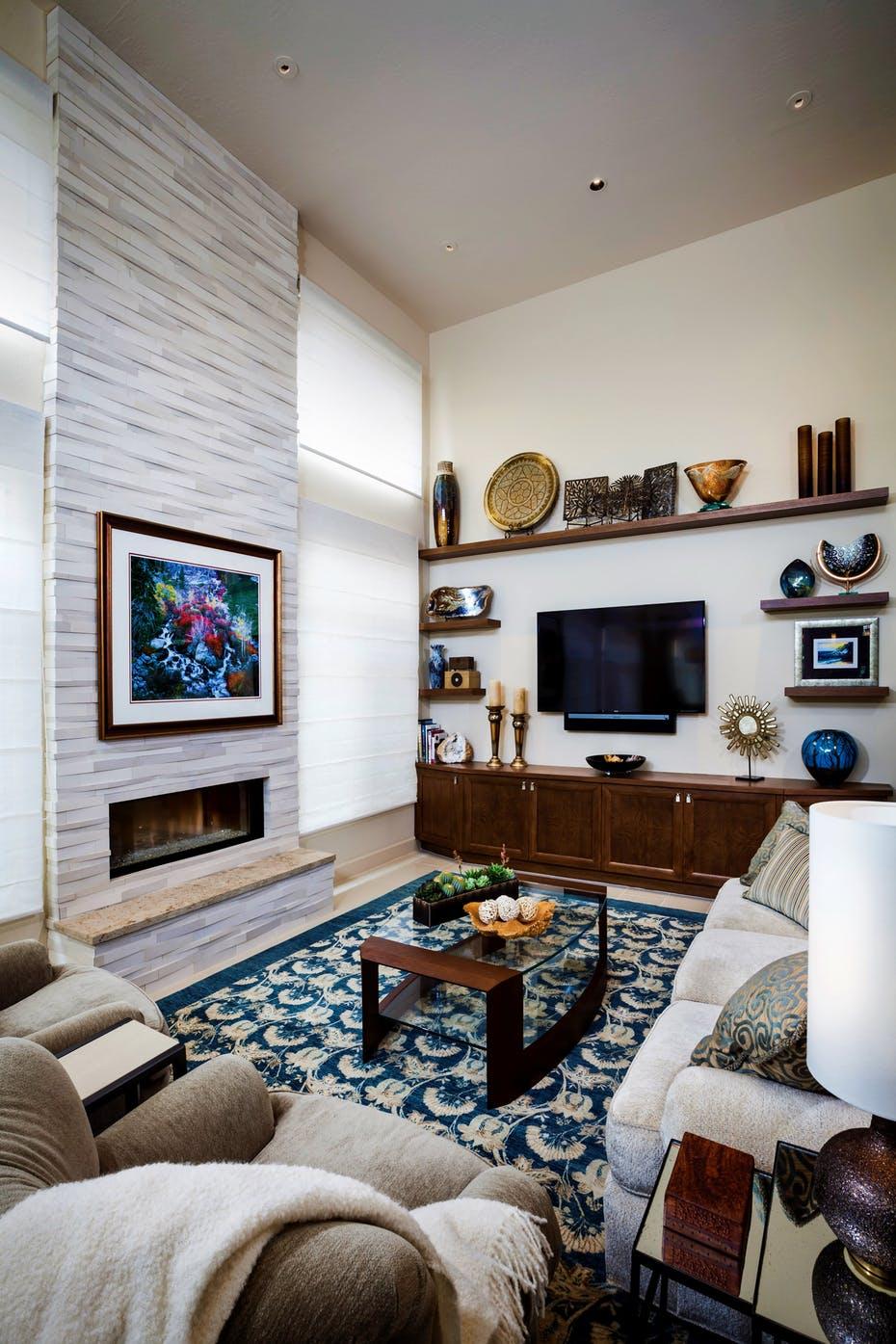 Những căn phòng khách khiến bạn phải lấy giấy bút học tập ngay cách thiết kế - Ảnh 11.