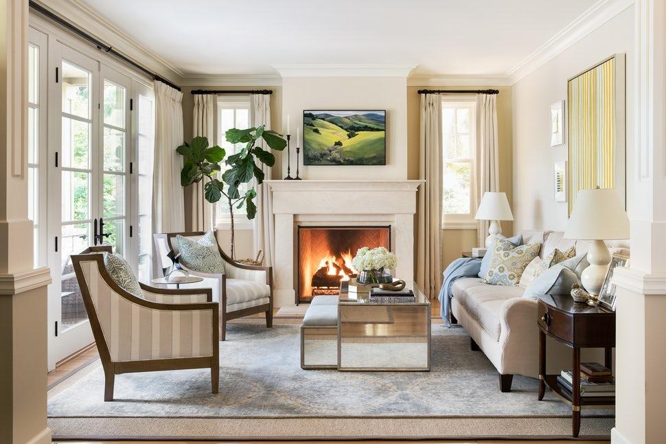 Những căn phòng khách khiến bạn phải lấy giấy bút học tập ngay cách thiết kế - Ảnh 14.