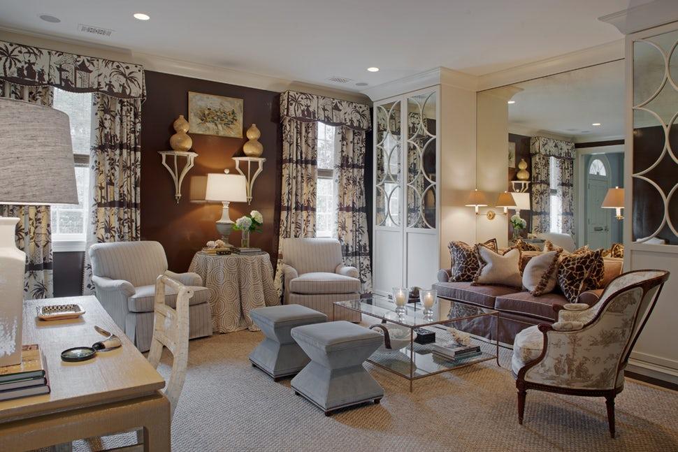 Những căn phòng khách khiến bạn phải lấy giấy bút học tập ngay cách thiết kế - Ảnh 15.