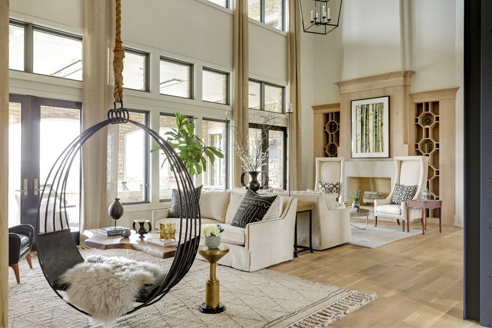 Những căn phòng khách khiến bạn phải lấy giấy bút học tập ngay cách thiết kế - Ảnh 17.