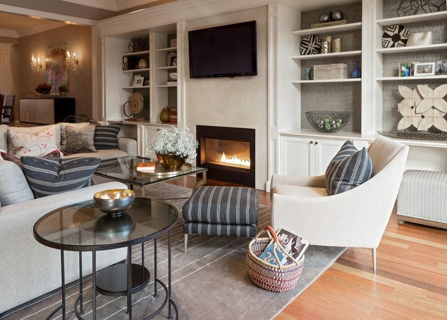 Những căn phòng khách khiến bạn phải lấy giấy bút học tập ngay cách thiết kế - Ảnh 21.