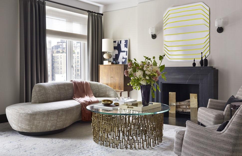 Những căn phòng khách khiến bạn phải lấy giấy bút học tập ngay cách thiết kế - Ảnh 27.