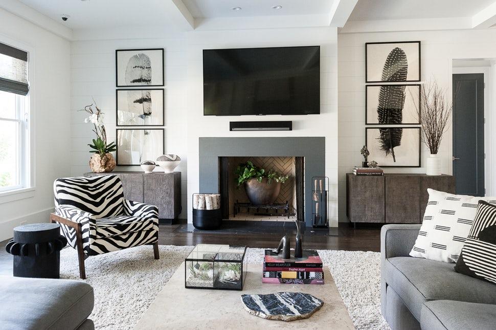 Những căn phòng khách khiến bạn phải lấy giấy bút học tập ngay cách thiết kế - Ảnh 18.