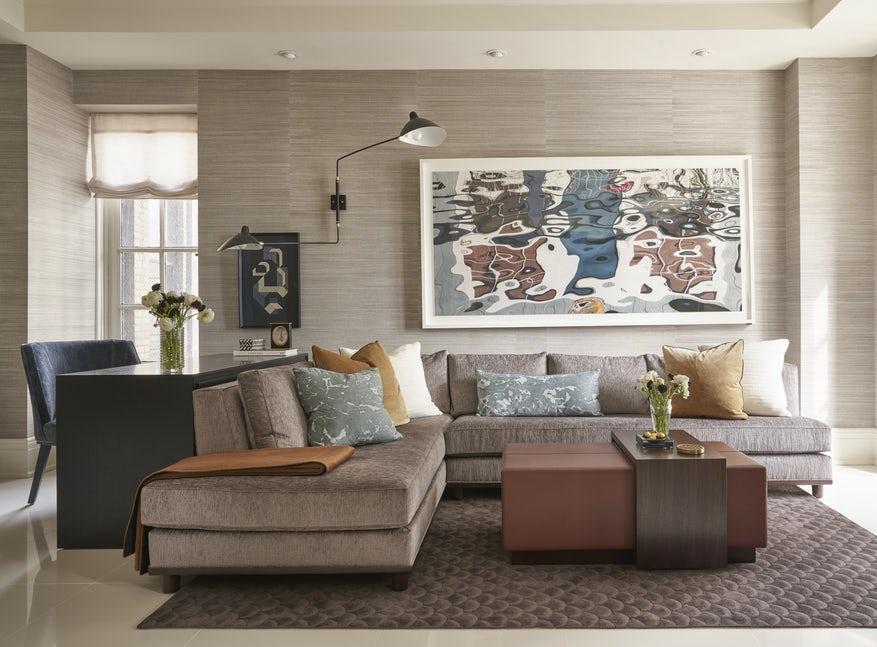 Những căn phòng khách khiến bạn phải lấy giấy bút học tập ngay cách thiết kế - Ảnh 19.
