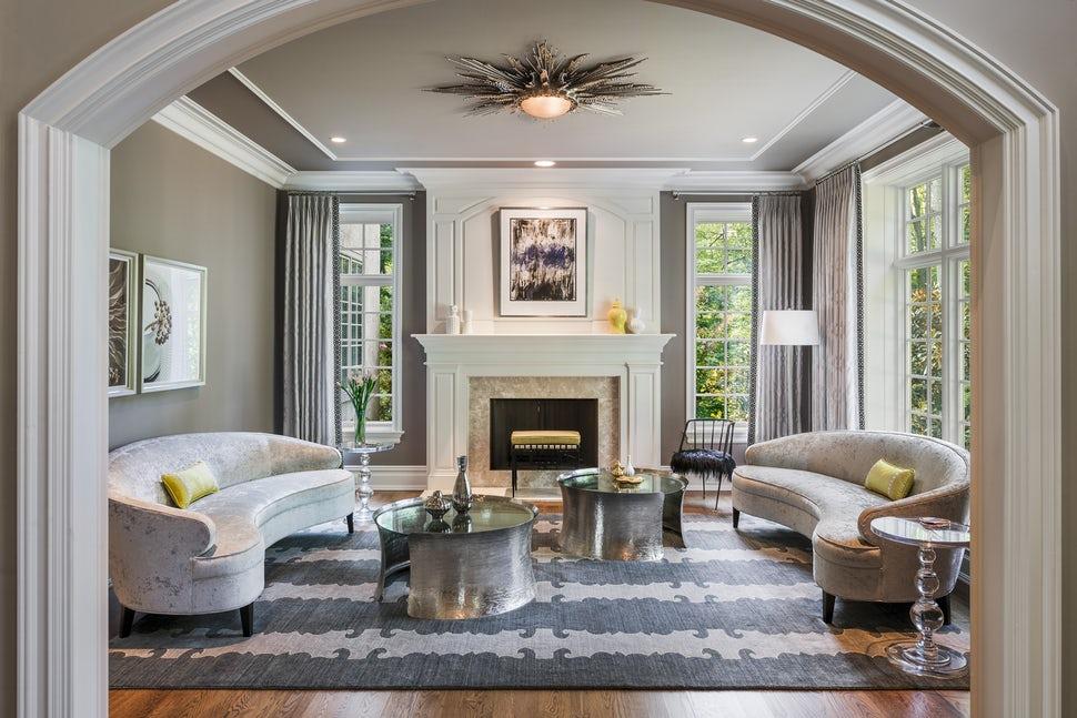 Những căn phòng khách khiến bạn phải lấy giấy bút học tập ngay cách thiết kế - Ảnh 23.
