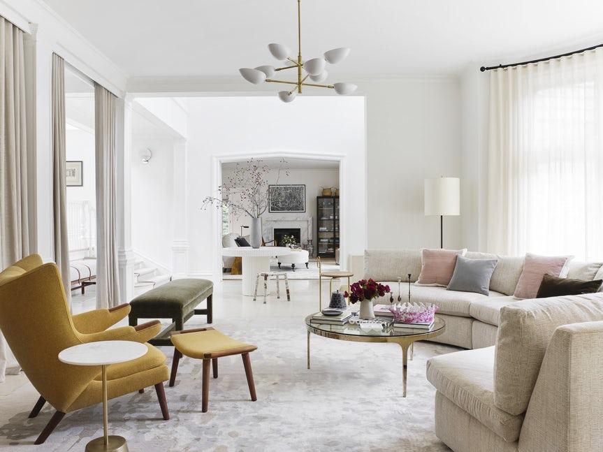 Những căn phòng khách khiến bạn phải lấy giấy bút học tập ngay cách thiết kế - Ảnh 20.
