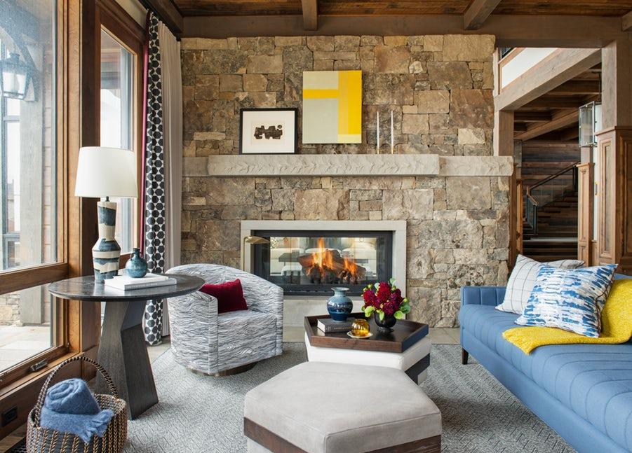 Những căn phòng khách khiến bạn phải lấy giấy bút học tập ngay cách thiết kế - Ảnh 22.
