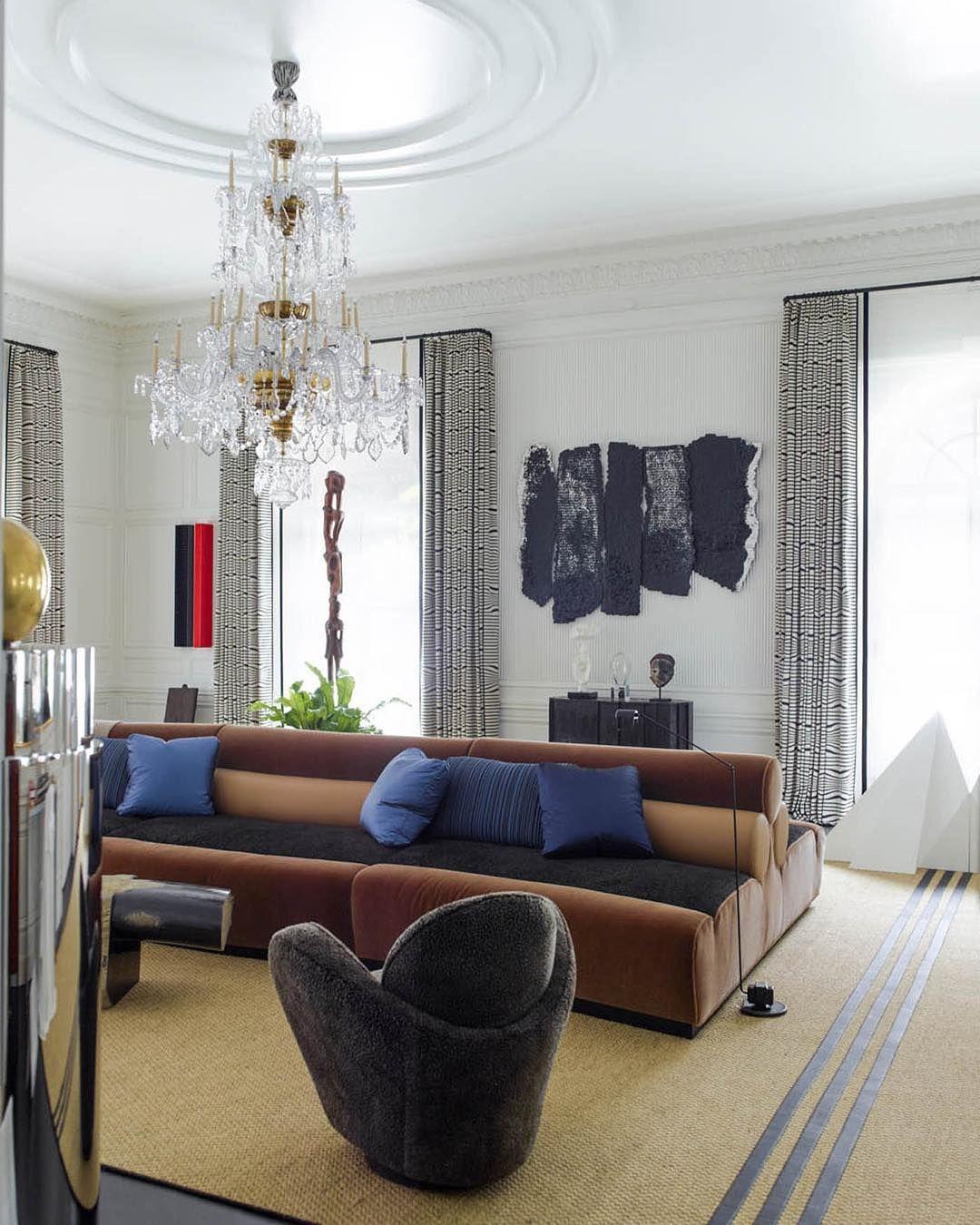 Những căn phòng khách khiến bạn phải lấy giấy bút học tập ngay cách thiết kế - Ảnh 25.