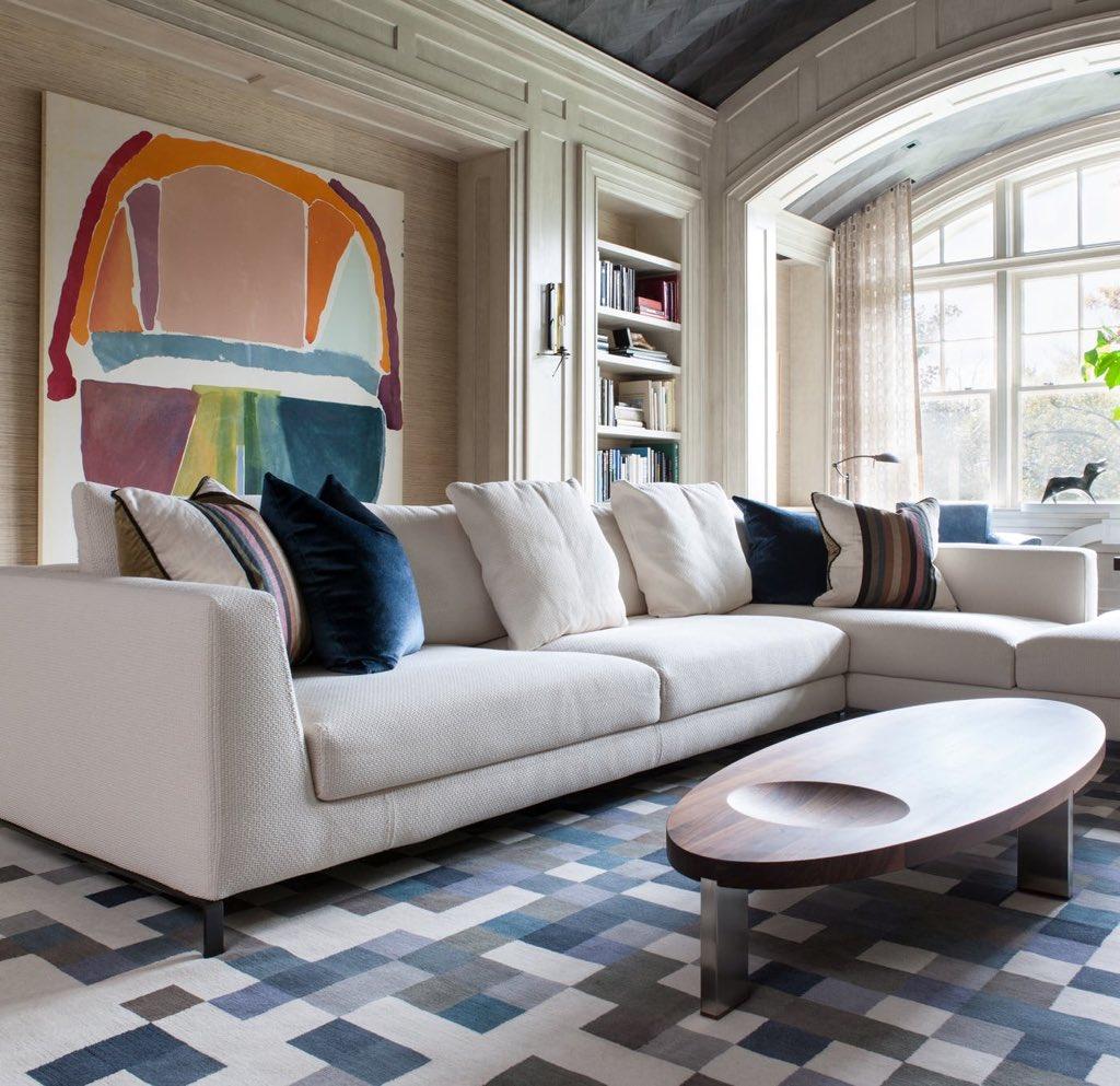 Những căn phòng khách khiến bạn phải lấy giấy bút học tập ngay cách thiết kế - Ảnh 26.