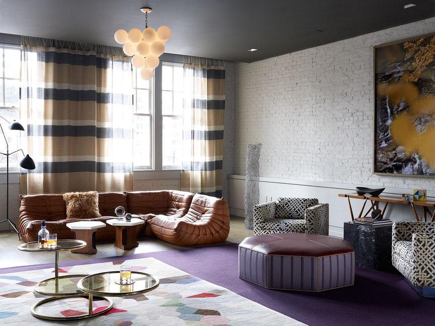 Những căn phòng khách khiến bạn phải lấy giấy bút học tập ngay cách thiết kế - Ảnh 24.