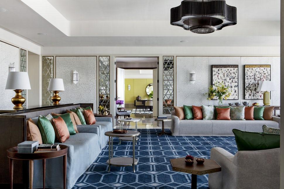 Những căn phòng khách khiến bạn phải lấy giấy bút học tập ngay cách thiết kế - Ảnh 4.