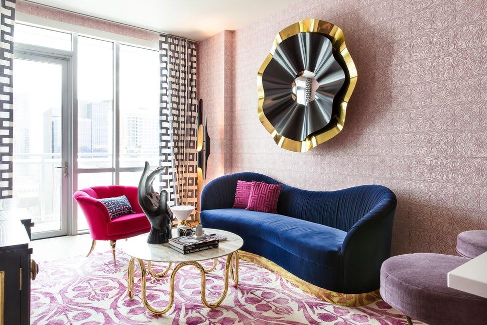 Những căn phòng khách khiến bạn phải lấy giấy bút học tập ngay cách thiết kế - Ảnh 10.