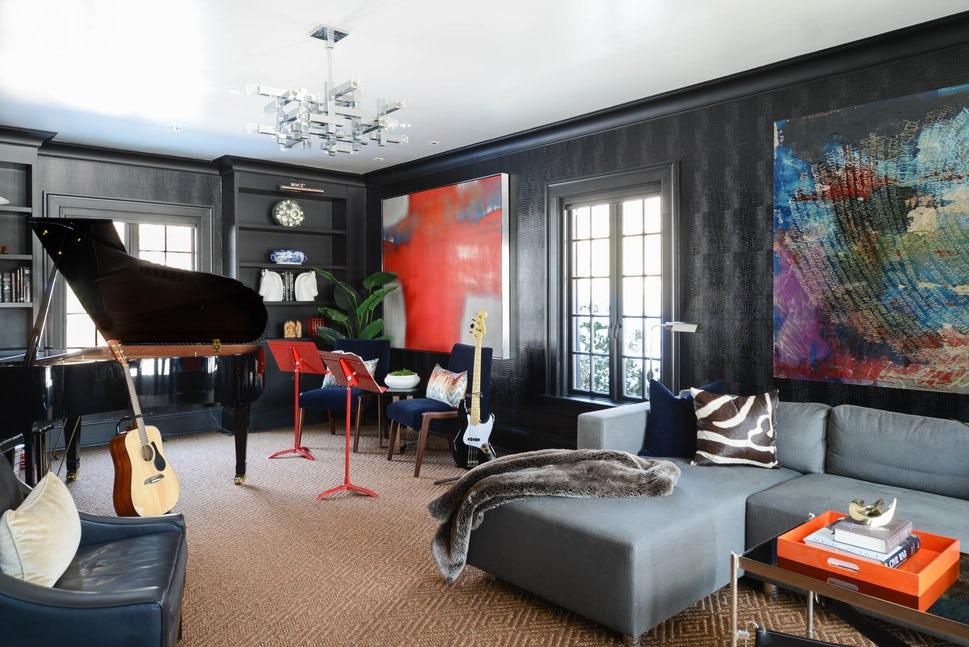 Những căn phòng khách khiến bạn phải lấy giấy bút học tập ngay cách thiết kế - Ảnh 3.