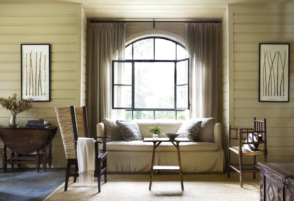 Những căn phòng khách khiến bạn phải lấy giấy bút học tập ngay cách thiết kế - Ảnh 2.