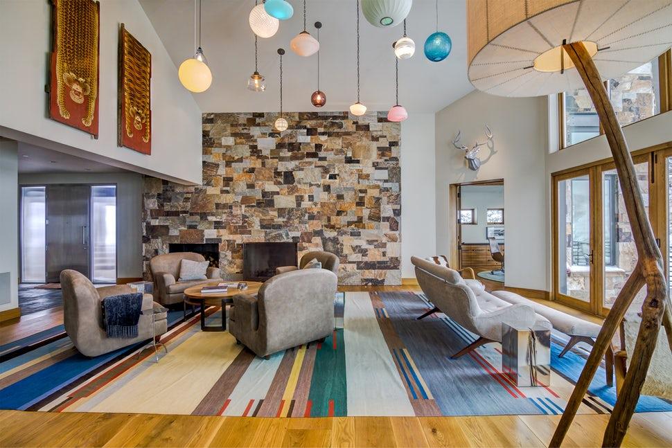 Những căn phòng khách khiến bạn phải lấy giấy bút học tập ngay cách thiết kế - Ảnh 7.