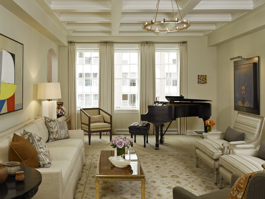 Những căn phòng khách khiến bạn phải lấy giấy bút học tập ngay cách thiết kế - Ảnh 8.