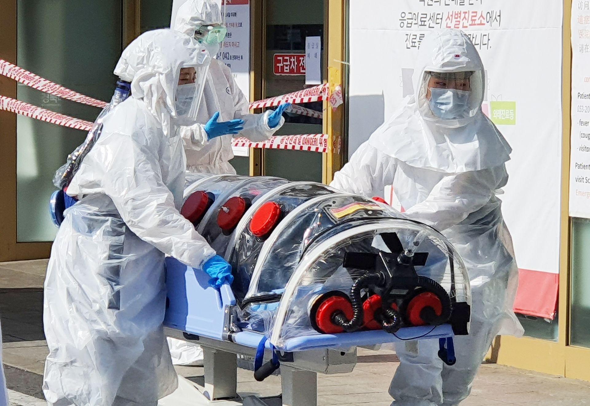 Hàn Quốc có bệnh nhân đầu tiên tử vong vì virus corona, số ca nhiễm đã tăng lên 104 - Ảnh 2.