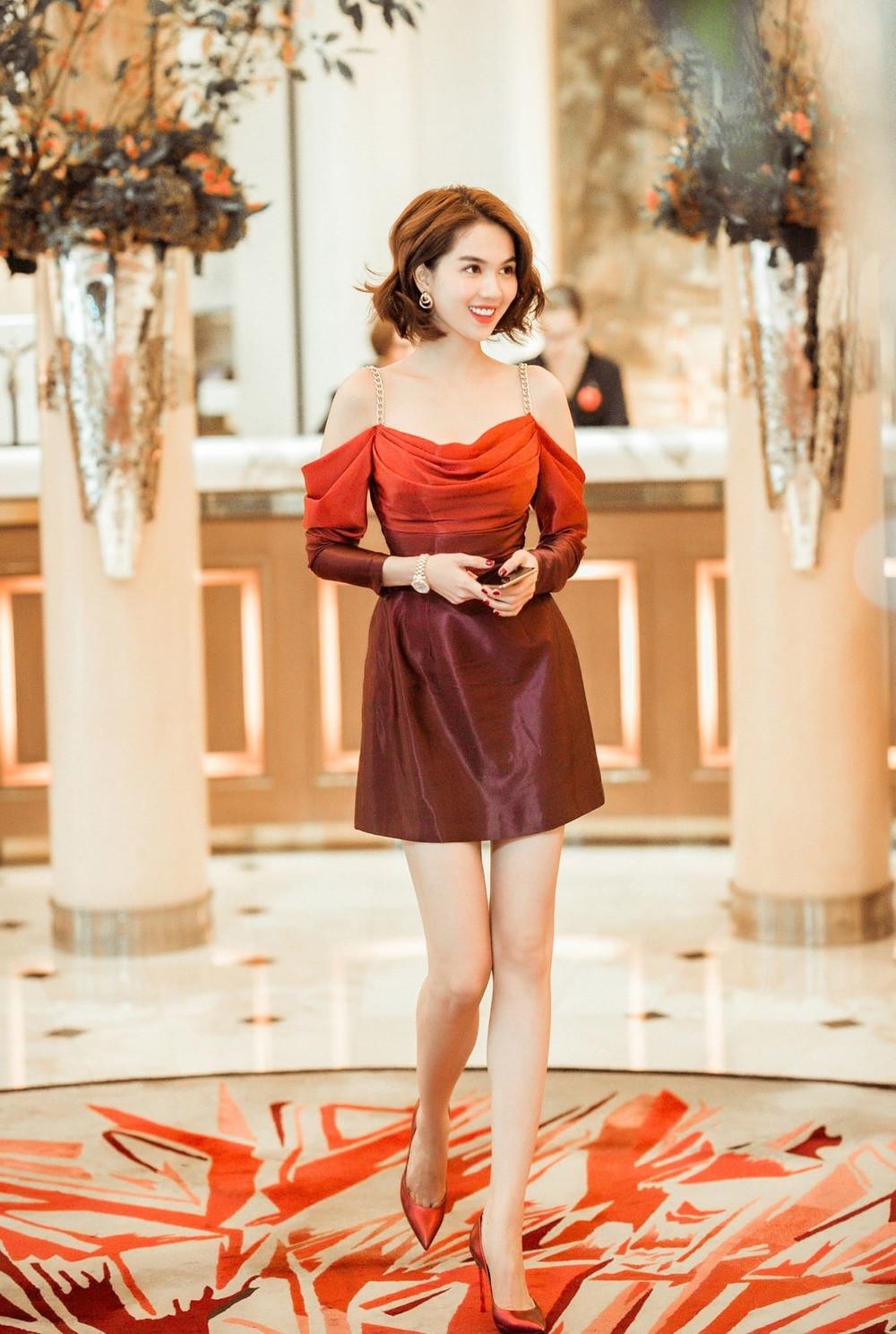 """Nhìn sự cách biệt """"váy hiệu – váy chợ"""" của Ngọc Trinh mới thấy photoshop có tác dụng thần kỳ thế nào - Ảnh 5."""