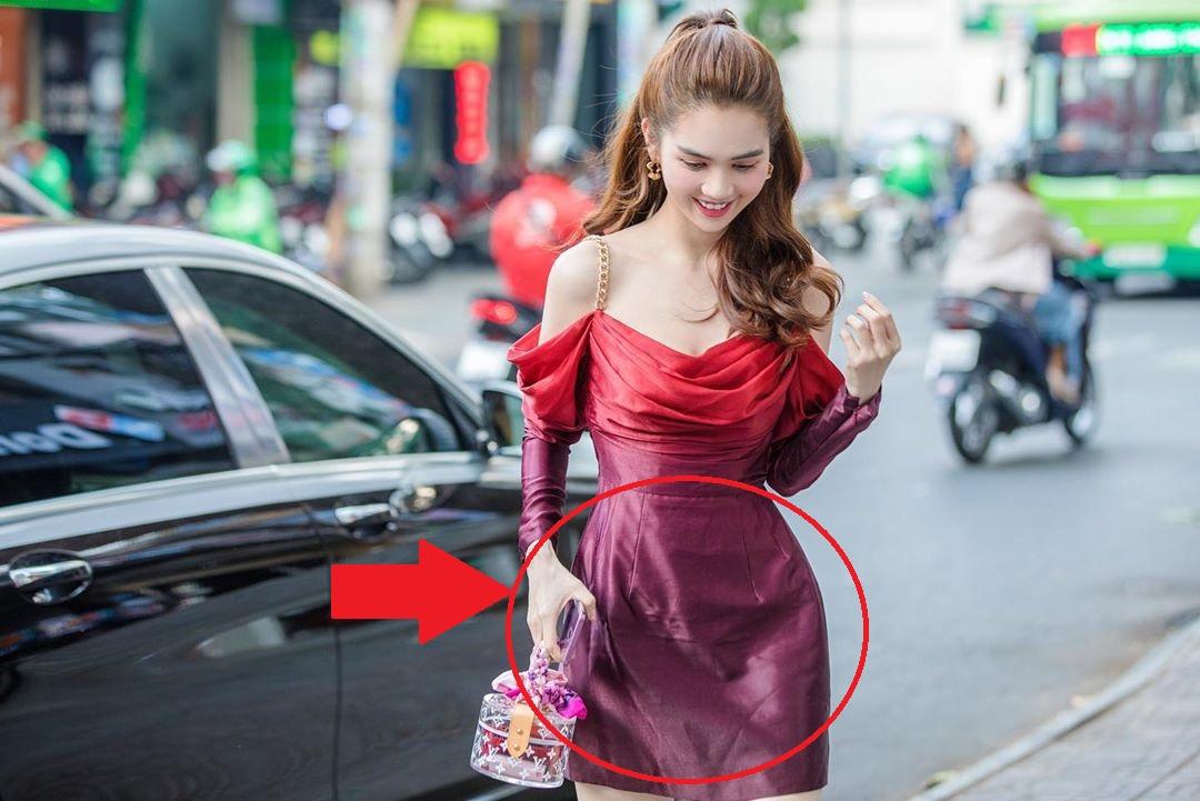 """Nhìn sự cách biệt """"váy hiệu – váy chợ"""" của Ngọc Trinh mới thấy photoshop có tác dụng thần kỳ thế nào - Ảnh 3."""