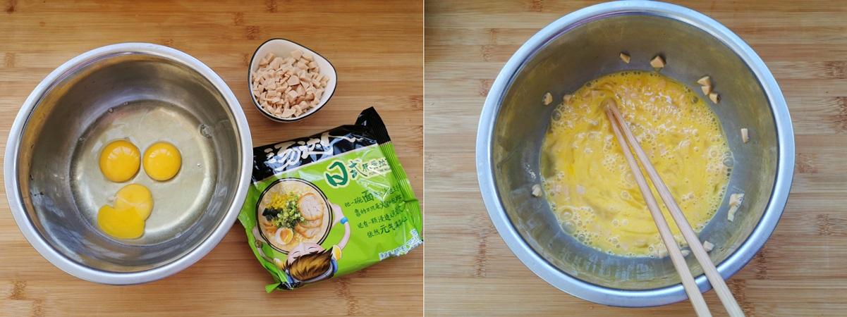 Dùng mì gói làm bánh trứng nóng hổi ngon lành cho cả nhà ăn sáng - Ảnh 1.