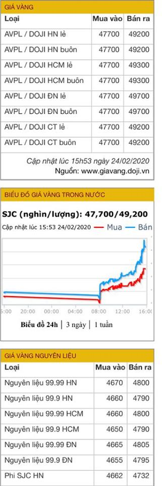 Giá vàng tăng lên 49 triệu/lượng, cao nhất trong vòng 9 năm trở lại đây - Ảnh 5.