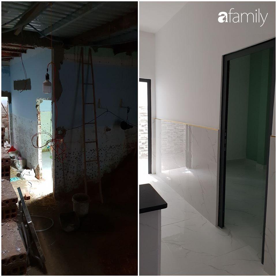 Ngôi nhà 90m2 ở Hóc Môn được cặp vợ chồng trẻ cải tạo lại mọi ngóc ngách với chi phí hơn 300 triệu đồng - Ảnh 3.