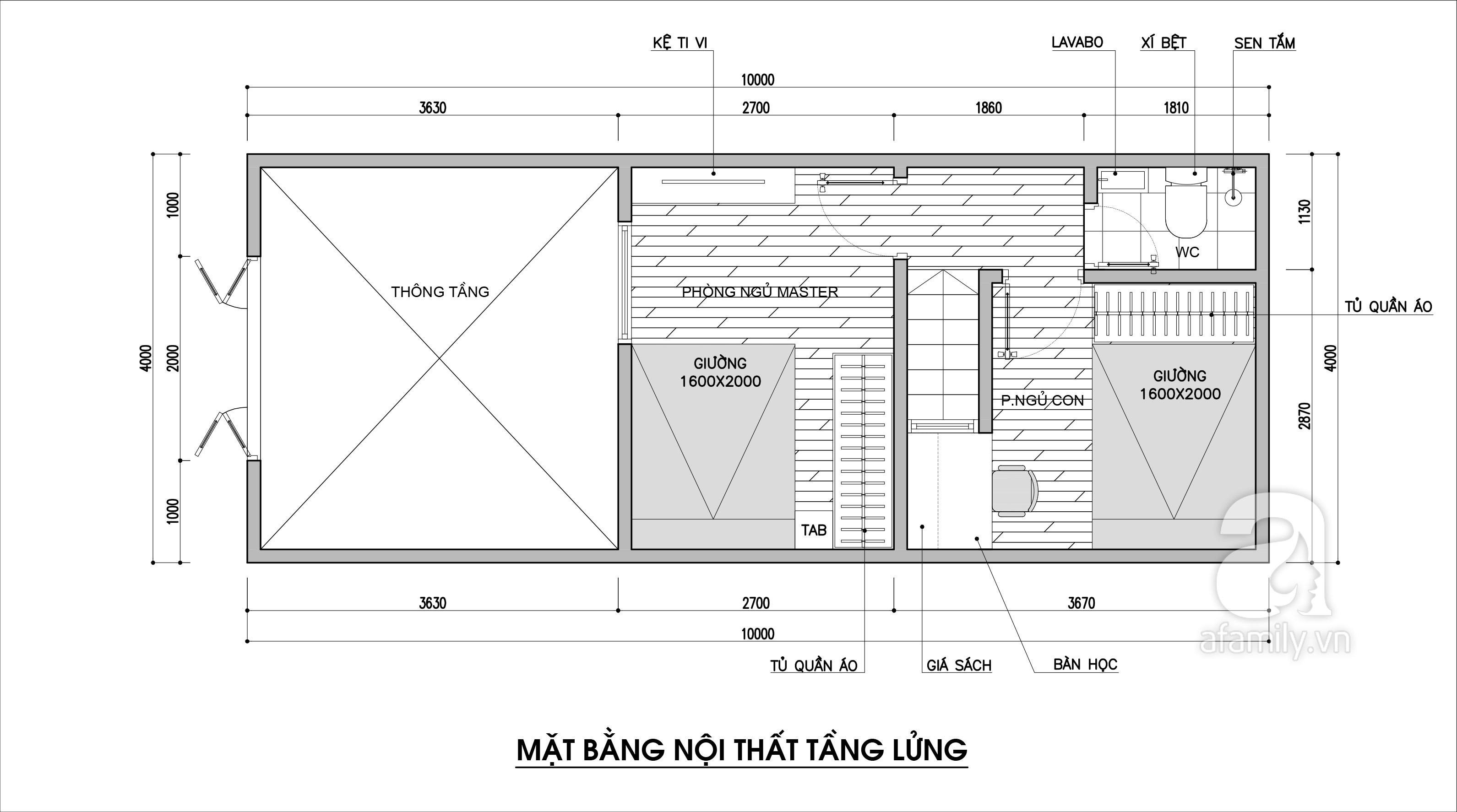 Tư vấn thiết kế cho nhà phố cấp 4 có diện tích nhỏ chỉ 4x10m với chi phí 90 triệu đồng - Ảnh 3.