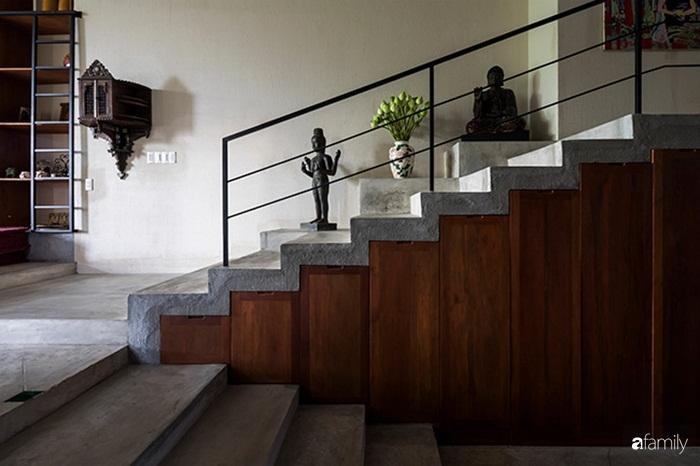 Ngôi nhà 200m² đẹp bình yên bên cây xanh trồng kín từ trệt đến mái ở quận 2, TP HCM - Ảnh 9.