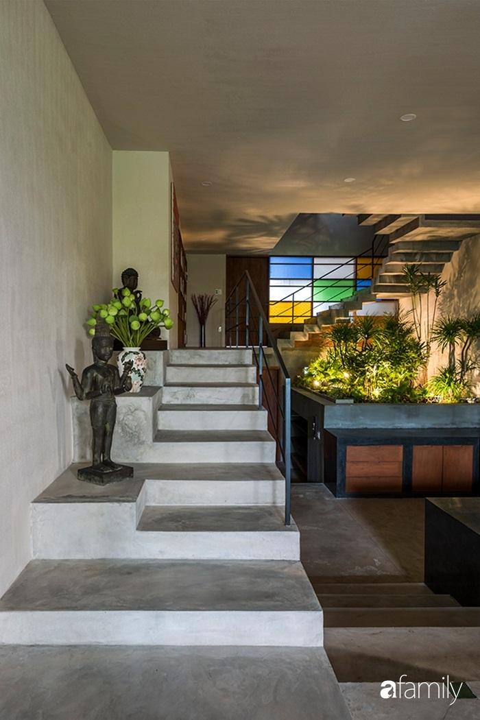 Ngôi nhà 200m² đẹp bình yên bên cây xanh trồng kín từ trệt đến mái ở quận 2, TP HCM - Ảnh 11.