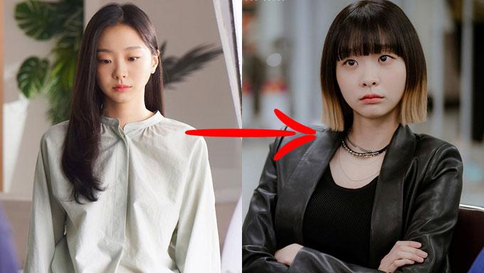 """Trước khi làm nữ quái """"Itaewon Class"""", Kim Da Mi cũng tóc dài nữ tính như bao cô nàng bánh bèo khác - Ảnh 2."""