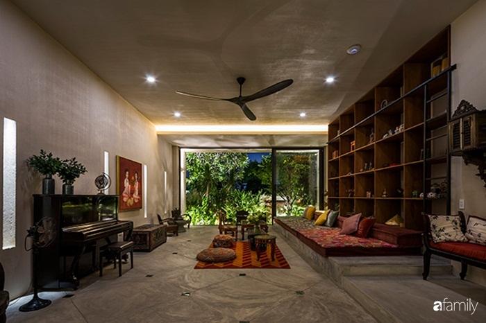 Ngôi nhà 200m² đẹp bình yên bên cây xanh trồng kín từ trệt đến mái ở quận 2, TP HCM - Ảnh 6.
