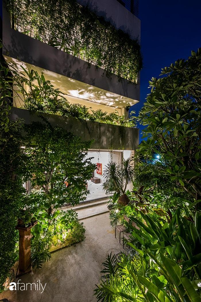 Ngôi nhà 200m² đẹp bình yên bên cây xanh trồng kín từ trệt đến mái ở quận 2, TP HCM - Ảnh 4.