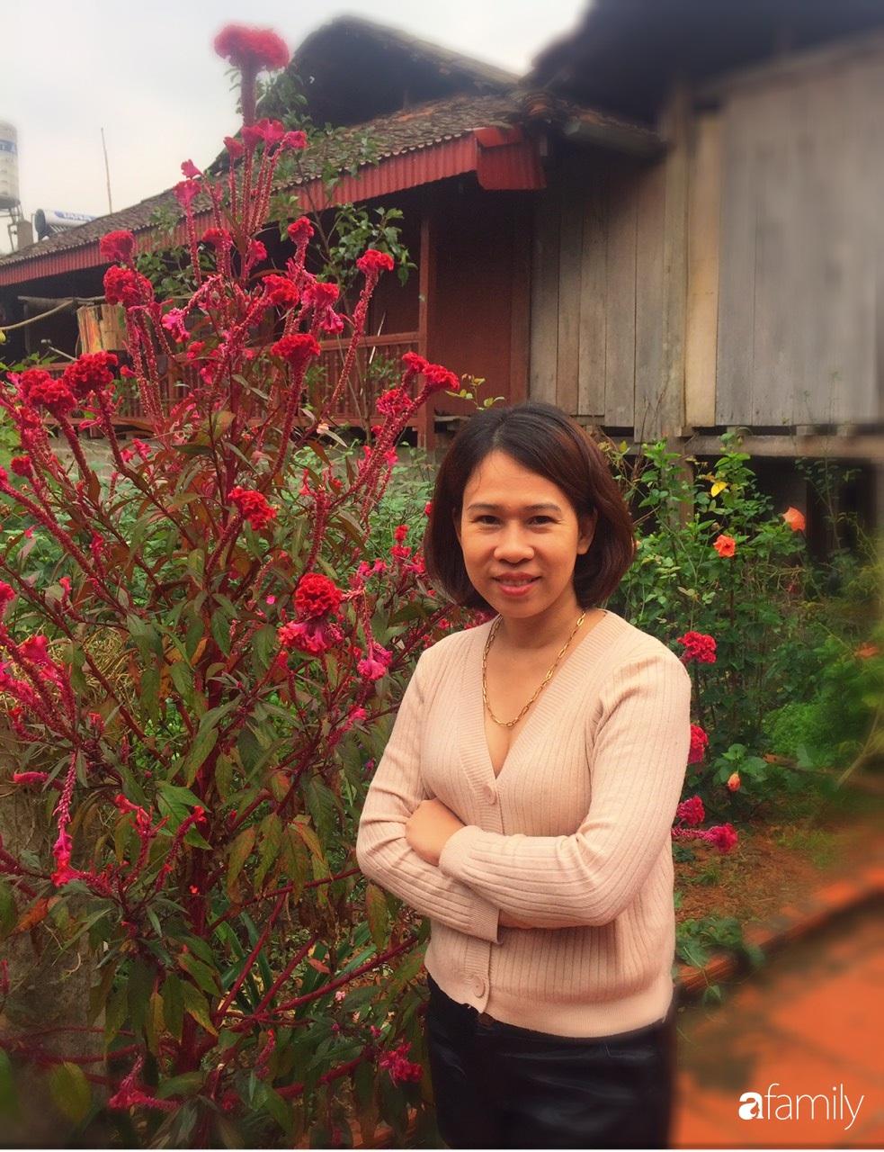 Không gian sống ngát hương bên khu vườn ngập tràn nắng ấm và rực rỡ sắc hoa ở Hà Nội - Ảnh 6.