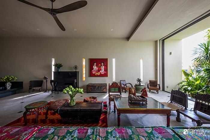Ngôi nhà 200m² đẹp bình yên bên cây xanh trồng kín từ trệt đến mái ở quận 2, TP HCM - Ảnh 7.