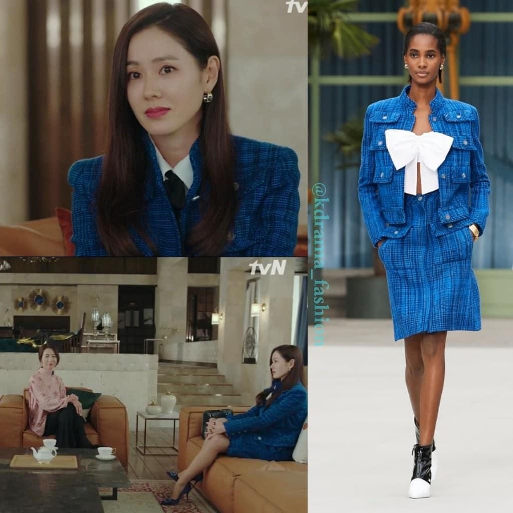 Một bộ đầm Chanel cả dàn sao Hoa - Việt - Hàn đụng độ: Chị đẹp Son Ye Jin sang chảnh ngút ngàn nhưng cây đồ của Jennie trị giá hơn 360 triệu mới là điều đáng nói - Ảnh 2.