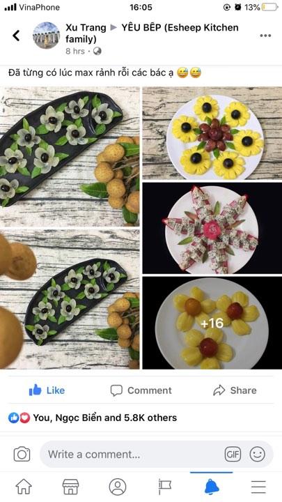 """Ngắm những đĩa trái cây đầy sáng tạo này mới hiểu vì sao chúng khiến các chị em """"phát sốt"""" cả ngày hôm qua"""