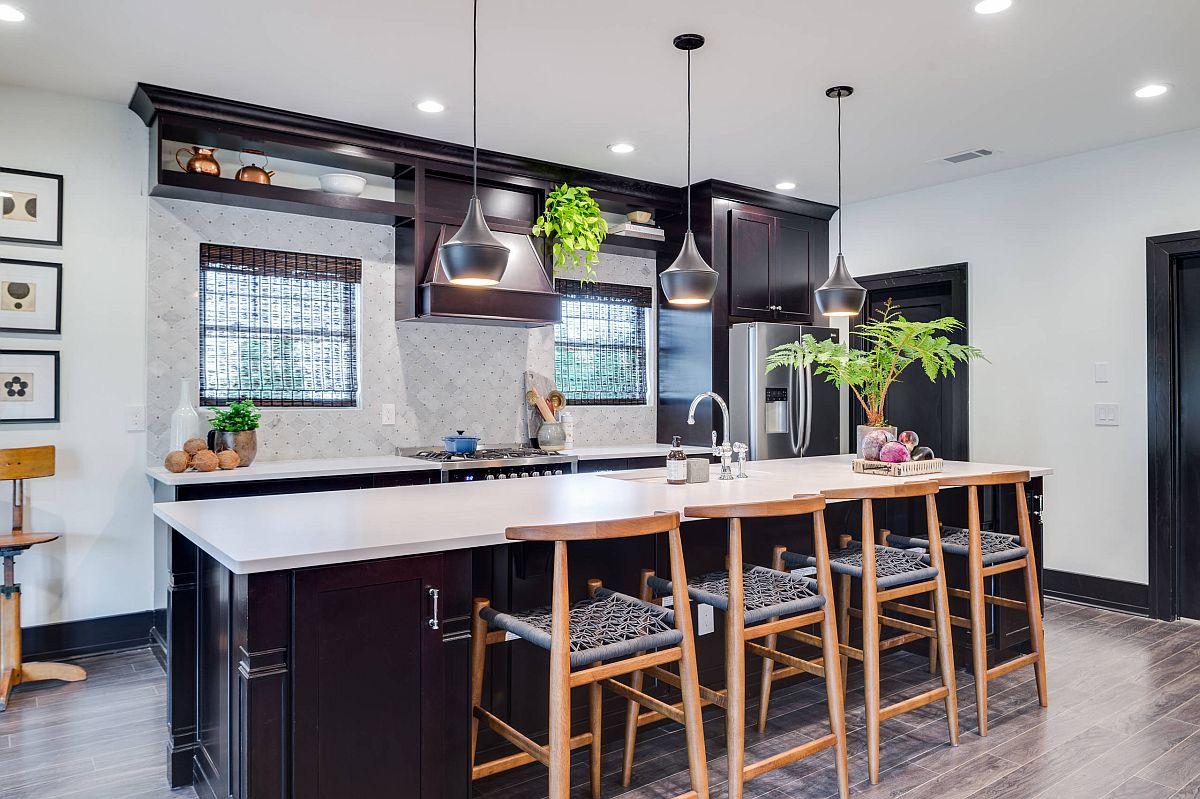 Sàn nhà bếp thịnh hành nhất năm 2020: Sàn gỗ ở khắp mọi nơi! - Ảnh 10.