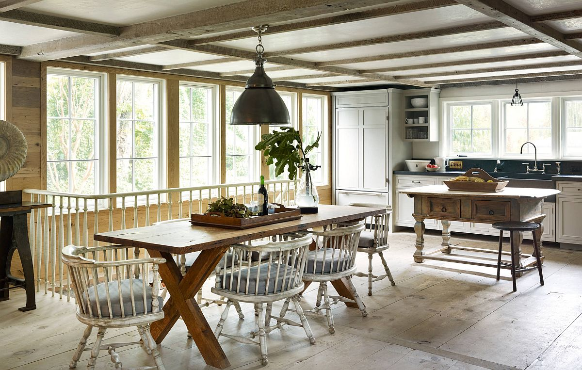 Sàn nhà bếp thịnh hành nhất năm 2020: Sàn gỗ ở khắp mọi nơi! - Ảnh 13.