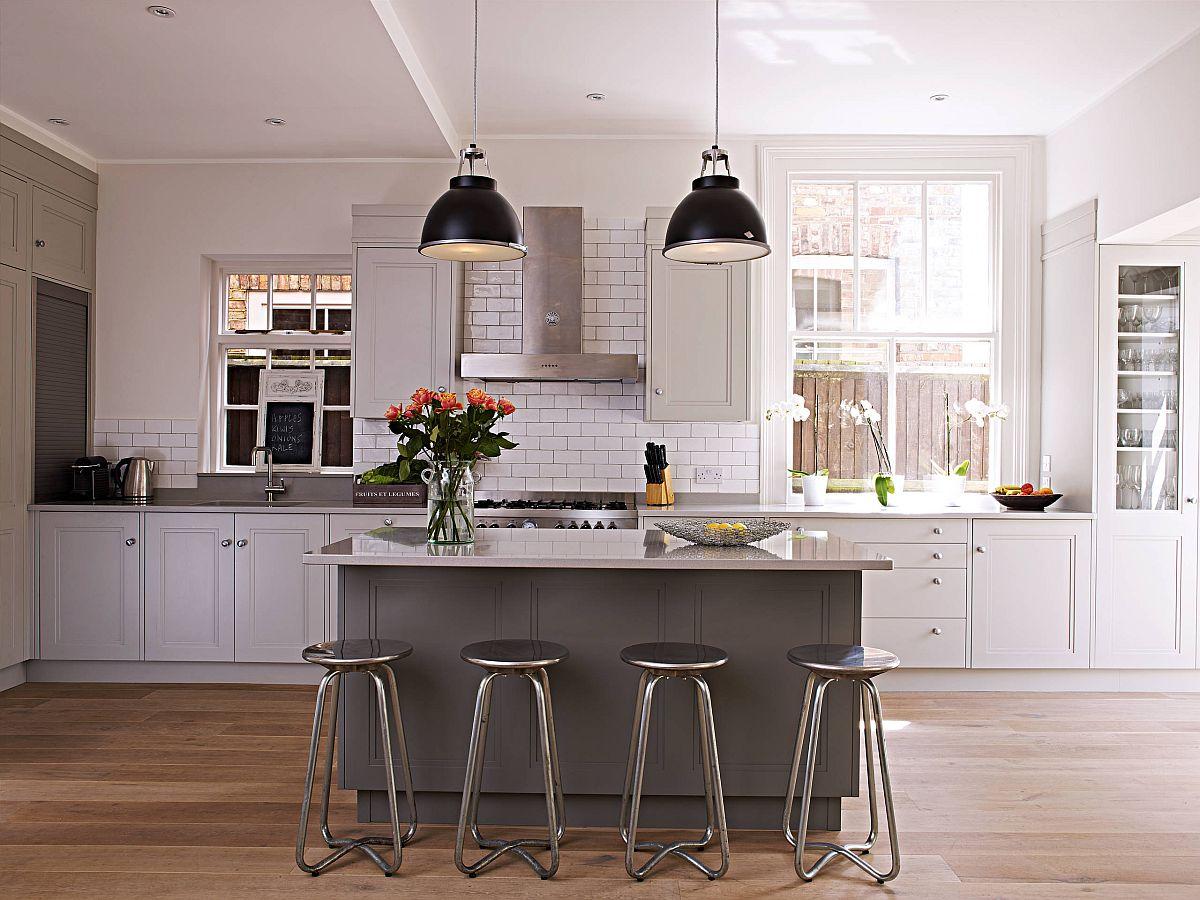 Sàn nhà bếp thịnh hành nhất năm 2020: Sàn gỗ ở khắp mọi nơi! - Ảnh 15.