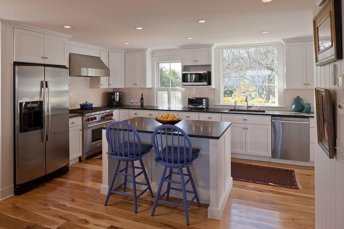 Sàn nhà bếp thịnh hành nhất năm 2020: Sàn gỗ ở khắp mọi nơi! - Ảnh 2.