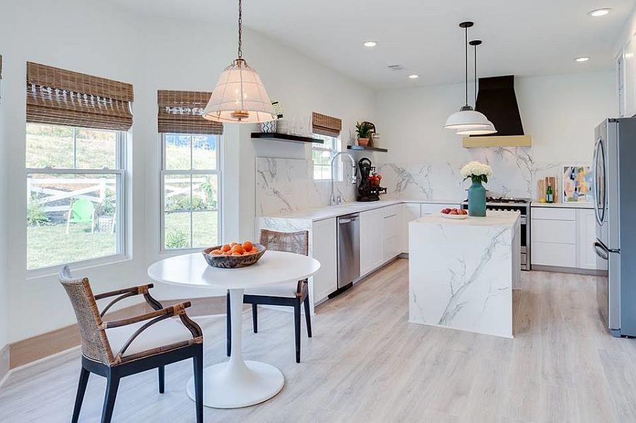 Sàn nhà bếp thịnh hành nhất năm 2020: Sàn gỗ ở khắp mọi nơi! - Ảnh 4.