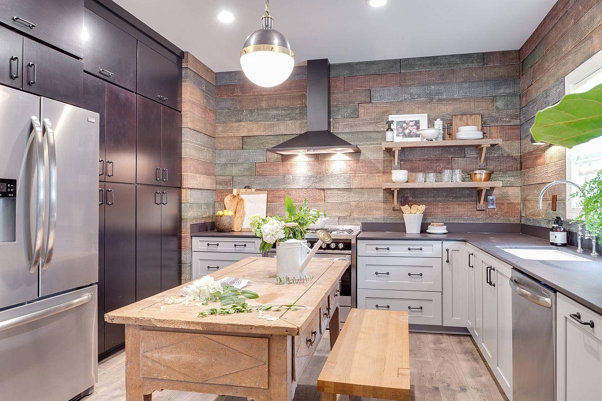 Sàn nhà bếp thịnh hành nhất năm 2020: Sàn gỗ ở khắp mọi nơi! - Ảnh 5.
