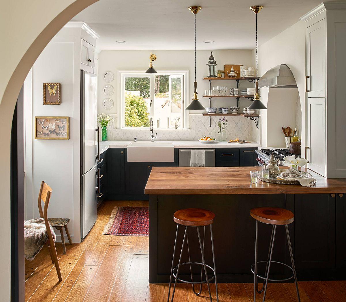 Sàn nhà bếp thịnh hành nhất năm 2020: Sàn gỗ ở khắp mọi nơi! - Ảnh 6.